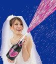 ピンクスパークリングシャワー 弾2発付き クラッカー クラッカー 散らからない クラッカー パーティー 桜吹雪 クラッカー 盛り上げ クラッカー