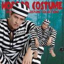 フォンデットスーツ 囚人服 男性 メンズ 衣装 ハロウィン コスプレ 変装 仮装 囚人 コスチューム ボーダー