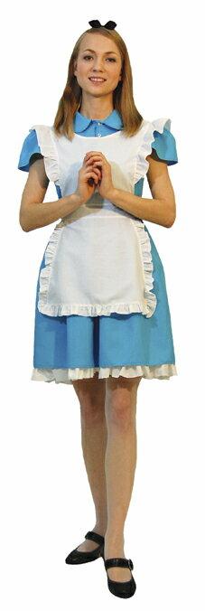大人 アリス レディース 女性 不思議の国のアリス ディズニー 公式ライセンス 衣装 仮装 ハロウィン コスプレ 変装 キャラクター コスチューム