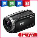 【新品】ハンディカム デジタルHDビデオカメラレコーダー HDR-CX675 Bブラック Handycam 32GB 光学30倍 251万画素 ソニー SONY...