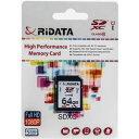 【新品】SDXCカード 64GB Class10 UHS-I RiDATA アールアイデータ [送料無料]【smtb-ms】【DM便】