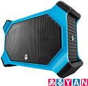 ECOXGEAR 防水 スピーカー ブルー EcoSlate Waterproof Rugged Speaker Bluetooth対応 新品 送料無料