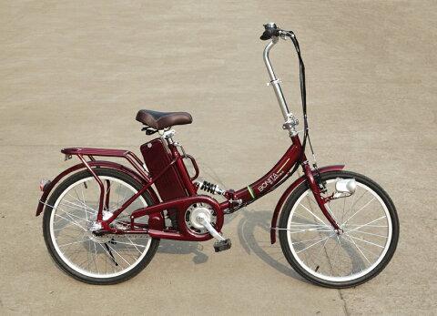 新発売★楽々坂道!★折りたたみ型アシスト電動自転車E-BIKE22(22インチ)
