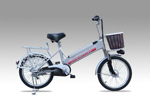 ★新商品数量限定★フルアルミ製★大容量リチウムイオン搭載フル電動自転車「KUNOICHI--くノ一」20インチ、カゴ付き