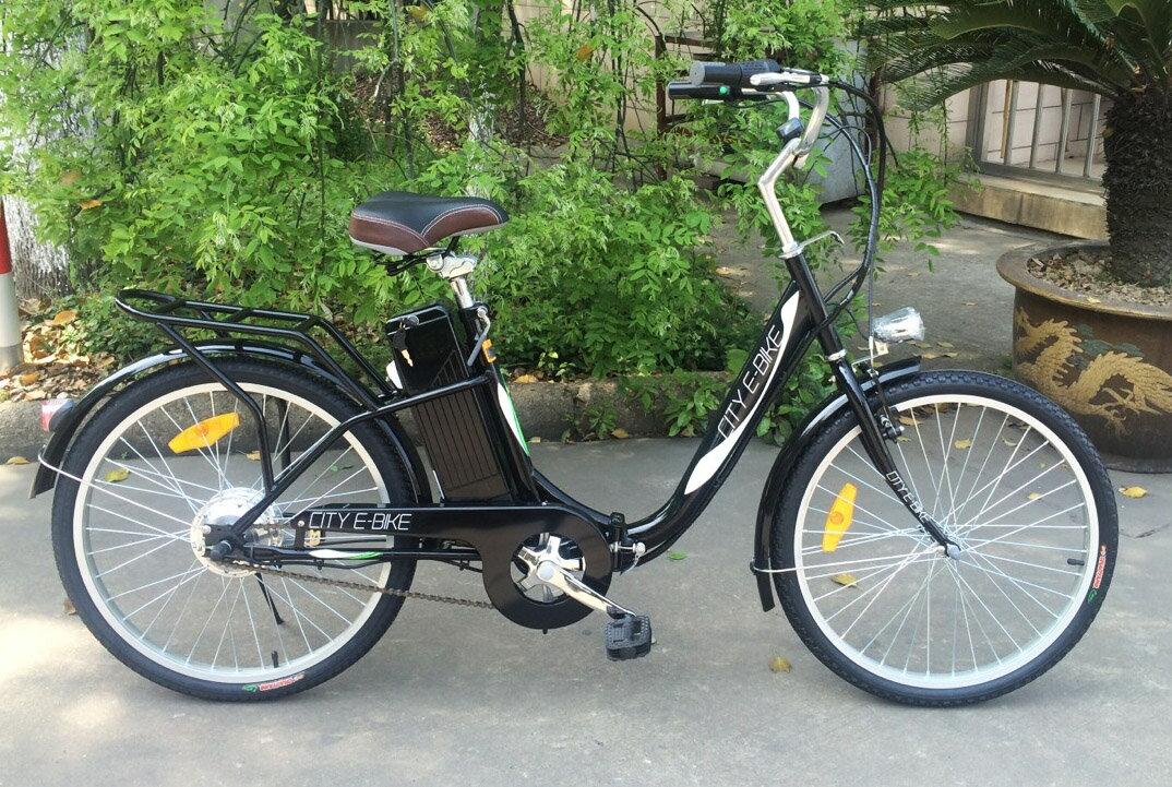★新型発売・楽々坂道!折り畳み★モペット型電動自転車E-BIKE24(24インチ) モペット電動自転車の先駆けです。【幅広い選択】