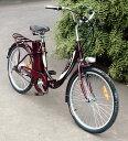 電動自転車(モペット版)簡単折りたたみ可能「E-BIKE24」24V12AH大容量バッテリー搭載  24インチ