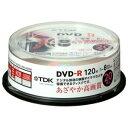 ★DR120DPWB20PU TDK 録画用DVD-R / 120分:4.7GB デジタル放送対応