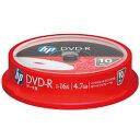 ★DVD-R4.7HPWBX10SA HP 16倍速対応データ用DVD-R 4.7GB 10枚パック