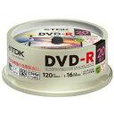★DR120DPWC20PUE TDK 録画用DVD-R デジタル放送録画対応(CPRM) 1-16倍速 インクジェットプリンタ対応(ホワイト・ワイド) 20枚スピンドル