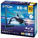 ★BRV25PWB10A TDK ブルーレイ(BD-R/25GB/録画用/4倍速/10枚/プリンタブル)
