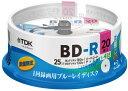 ★【送料無料】BRV25LFLB20PUD TDK 録画用ブルーレイディスク BD-R LTH TYPE 1回録画用 25GB 1-4倍速 数量限定モデル フレームライン/タイトルライン付きディスク