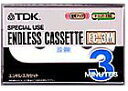 《0126PUP2F》【\4000以上で送料無料】TDK ENDLESS CASSETTE エンドレスカセット 3分 EC-3M
