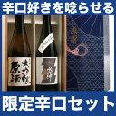 日本酒 飲み比べセット お酒 お中元ギフト プレゼント 誕生日 お祝い 贈り物 ネット限定辛口セット 720ml×2本 送料無…