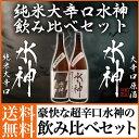 日本酒 ギフト お歳暮 純米大辛口 水神原酒/水神 1800ml 2本セット 誕生日 お酒 クリ