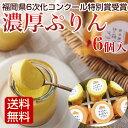 濃厚ぷりん 6個入 かぼちゃプリンとさつま芋ぷりんの2種類入...