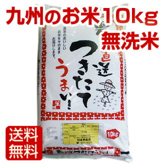 24, 10 Kg of rice rinse free Fukuoka Prefecture US 100% of the annual rice farmers directly from freshly