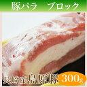 長崎島原豚 バラブロック 300g