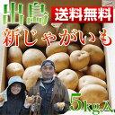 じゃがいも 5kg 人気の出島 男爵芋 長崎産の新ジャガイモ 【送料無料】