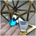 【1個】20*20*20mm ミニピラミッド型 シリコンモールド オルゴナイト/ピラミッド型/金字塔/ピラミッド/モールド/レジン/シリコンモールド/シリコン型...