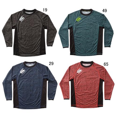 長袖 Tシャツ メンズ /カンタベリー ビッグ 大きいサイズ プラクティス ティー/ラグビーウェア トレーニング 男性 トップス スポーツウェア/特価 セール RG48005B