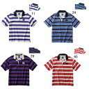 ラガーシャツ メンズ ビッグ 大きいサイズ 半袖 綿 シャツ/カンタベリー canterbury/ラグビー スポーツウェア タウンユース/特価セール RA38111B