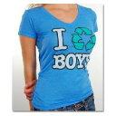 【即納】2009年最新モデルLocal Celebrity ローカルセレブリティI Recycle Boys Tシャツ ブルーinCELEB 2月号P67掲載商品ViVi GISELe SWeet VERY掲載ブランド109セレクトショップ アイテム アゲハ