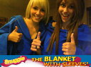 snuggie スナギー 着る毛布4ヶ月で400万枚販売 袖...