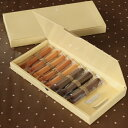 【洋菓子用ギフト箱】菓子箱 スティックBOXクリーム 10本入用 5枚入 【rrr】