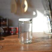 ガラスジャム瓶(白キャップ付) 450cc