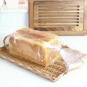 ★価格勝負★当店販売勾配のない2斤型の山型も入ります!2斤食パン袋 IPP規格袋 KO-06 100枚入 【rrr】