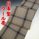 便利な京袋帯。人気のネコ柄です!京袋帯7(仕立上)京紫織≪ネコと縞≫