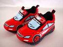 4つの機能を搭載!お子様でも着脱しやすい設計♪トミカ スニーカートミカレスキュー【車型の運動靴】