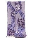 鳴海有松 女 絞り浴衣 -椿/紫系- [ 1405-1625 ]