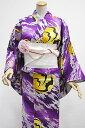 ◆倖田來未◆ 女物 プレタゆかた オリジナルコーディネイトセット −こうもり・紫− [ 0807-453 ]