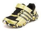 adidas(アディダス) ADIDAS FAITO EL 3 K(アディダスファイトEL3K) AQ5652 コアブラック/マッドゴールド/ソーラーゴールド