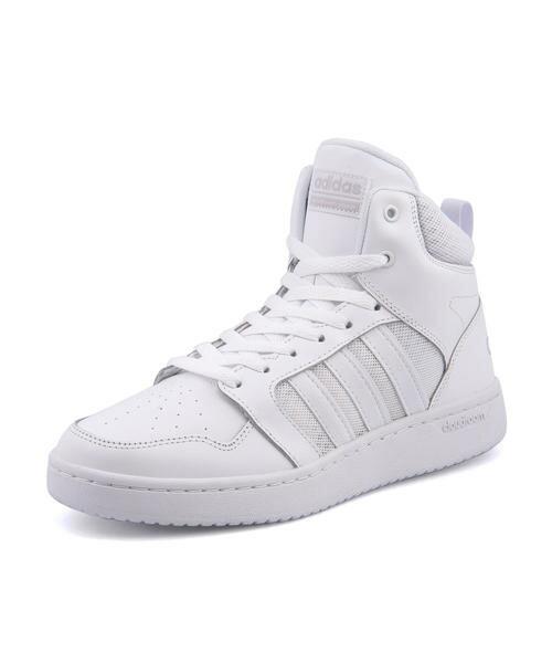 adidas(アディダス) CLOUDFOAM BIG TANN M(クラウドフォームビッグタンM) DA9900 ランニングホワイト/グレーワン