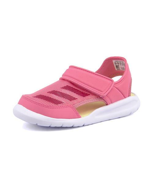 adidas(アディダス) FORTASWIM C(フォルタスイムC) AC8297 チョークピンク/ビビッドベリー/ランニングホワイト
