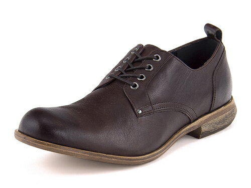 Lee(リー) メンズ 本革カジュアルシューズ(オックスフォードシューズ) 52441 ダークブラウン | 靴 シューズ メンズシューズ カジュアルシューズ 本革 レザーシューズ ブランド 紳士靴 紳士靴カジュアル シンプル オックスフォード 革靴 メンズカジュアルシューズ 茶