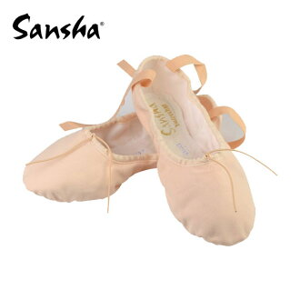 サンシャキャンバス ballet shoes split sole dance, slippers and electone too! [Shose 02]