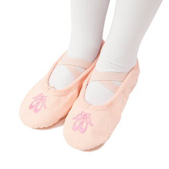 To dance Pointe Shoes embroidery canvas ballet shoes, slippers and electone! [Shose 07]
