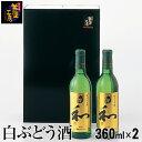 白ぶどう酒 和(なごみ) 2本 360ml×2本