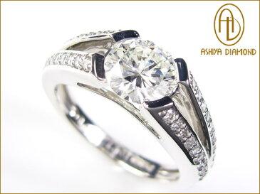天然ダイヤモンドリング/1.021ct/VS1/プラチナ900指輪/P19Jul15
