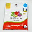 ショッピングパック FRUIT OF THE LOOM ポケット tシャツ PACK TEE POCKET J3930PHD 2枚組