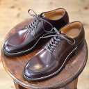 Makers メイカーズ 靴 V TIP BLUCHER 15AW BURGUNDY