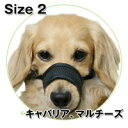 【犬のしつけに】メッシュマズル No.2イヌ 口輪 無駄