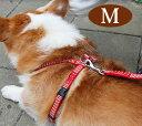 ハーネス ASHU ステップハーネスM 中型犬 ペット 胴輪 ナイロン 布製 リード