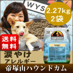 | Wilson アナジェン dog food /2.27kg x 2 bags / tezukayama mountain Hound come popular ranking # 1 and additive-free dog food WYSONG アナジュン / tears burn dogs pets and wysong 5P13oct13_b