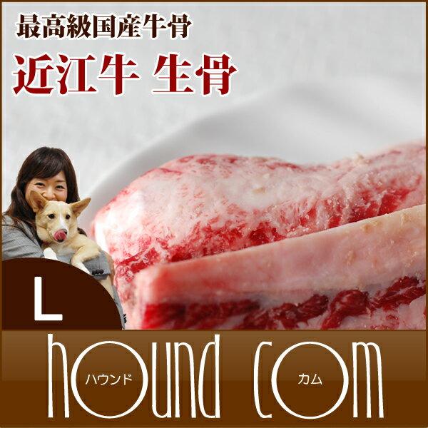 近江牛の生骨無添加デンタルボーンLサイズ(大型犬用)犬手作り食生骨手作りごはん歯磨きおやつドッグフー