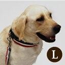 犬 首輪 大型犬 ASHU トリコロールカラーL【リードは別売り】 シェパード ブルドッグ幅広3cm 犬用首輪 お散歩 可愛い 犬のグッズ ペット用品 犬の首輪 愛犬 犬用品 かわいい おしゃれ 楽天市場店 ペット用