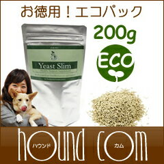 Acidophilus supplements イーストスリム rates eco Pack 200 g 5P13oct13_b for dogs & cats